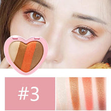 Load image into Gallery viewer, HOJO Brand Sweet Heart Eyeshadow Palette Matte Shimmer Eyeshadow Naked Makeup Korean Style Cosmetics Long-lasting Easy To Wear