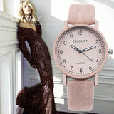 Gogoey Fashion Ladies Leather Watch