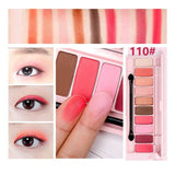 10 Colors Peach Matte Eyeshadow Palette Pink Mermaid Pigment Glitter Wet Eye Shadow Powder Pallete