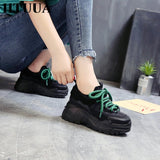 HTUUA 2019 Spring Autumn Women Casual Shoes Comfortable Platform Shoes Woman Sneakers Ladies Trainers - PrintiLya