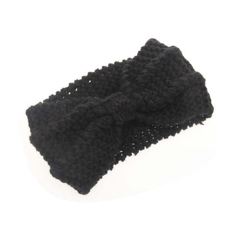 Winter Warmer Ear Knitted Headband - PrintiLya