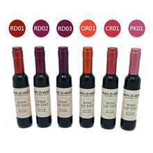 Load image into Gallery viewer, Red Wine Bottle Matte lip tint Lip Gloss Waterproof Long Lasting Lipgloss Moisturize Lip Tint Cosmetic Liquid Lipstick 6 Colors - PrintiLya