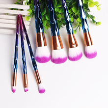 Load image into Gallery viewer, Mermaid Unicorn Screw Diamonds Gourd Makeup Brushes Sets 3D Colorful Brushes Foundation Blush Cosmetic Brush Set Kit Tools