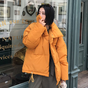Autumn Winter Jacket Women Coat Fashion Female Stand Winter Jacket Women Parka Warm Casual Plus Size Overcoat Jacket Parkas - PrintiLya