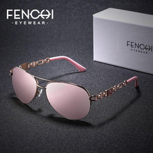 Load image into Gallery viewer, FENCHI Fashion Metal Brand Designer Glasses UV400 - PrintiLya