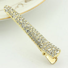 Load image into Gallery viewer, 1Pcs Bling Crystal Hairpins Hair Clip Headwear for Women Girls Rhinestone  Pins Barrette Styling Tools Accessories 4Colors - PrintiLya