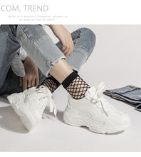 Load image into Gallery viewer, New 2019 Summer Casual Women Sneakers Air Mesh Breathable Shoes Flat Platform Casual Shoes Female Trainers White Pink Size 35-40 - PrintiLya