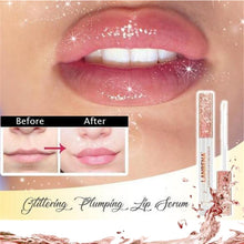 Load image into Gallery viewer, Natural Plumping Lip Serum Glittering Plumping Lip Serum Increase Lip Elasticity Reduce Fine Lines Repairing Moisturizing Beauty - PrintiLya