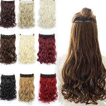 Load image into Gallery viewer, 70cm 5 Clip In Hair Extension Heat Resistant Fake Hairpieces Long Wavy Hairstyles Synthetic Clip In On Hair Extensions - PrintiLya