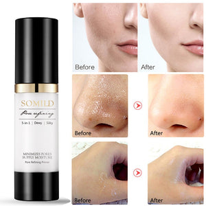 SOMILD 30ML Korean Face Primer Makeup Base Oil-Control Whitening Invisible Pore Facial Matte Make Up Foundation Primer Cosmetics - PrintiLya