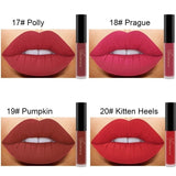 24 Color Liquid Lipstick Matte Long Lasting Makeup Lips Red Matt Nude Gloss Cosmetics Waterproof Matte Lipsticks - PrintiLya