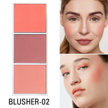 Load image into Gallery viewer, 4 Colors Highlighter Palette Makeup Face Contour Powder Bronzer Make Up Blusher Professional Blush Palette Cosmetics