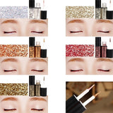 Professional Makeup Silver Rose Gold Color Liquid Glitter Eyeliner New Shiny Eye Liners for Women Eye Pigment Korean Cosmetics - PrintiLya