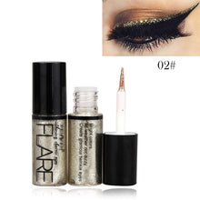 Load image into Gallery viewer, Professional Makeup Silver Rose Gold Color Liquid Glitter Eyeliner New Shiny Eye Liners for Women Eye Pigment Korean Cosmetics - PrintiLya