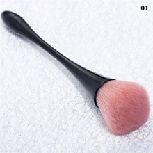Load image into Gallery viewer, NEWBY 1 Pc 6 Colors Soft Nail Dust Cleaning Brush Nail Glitter Remover UV Gel Powder Removal Acrylic Nail Brushes Manicure Tools - PrintiLya