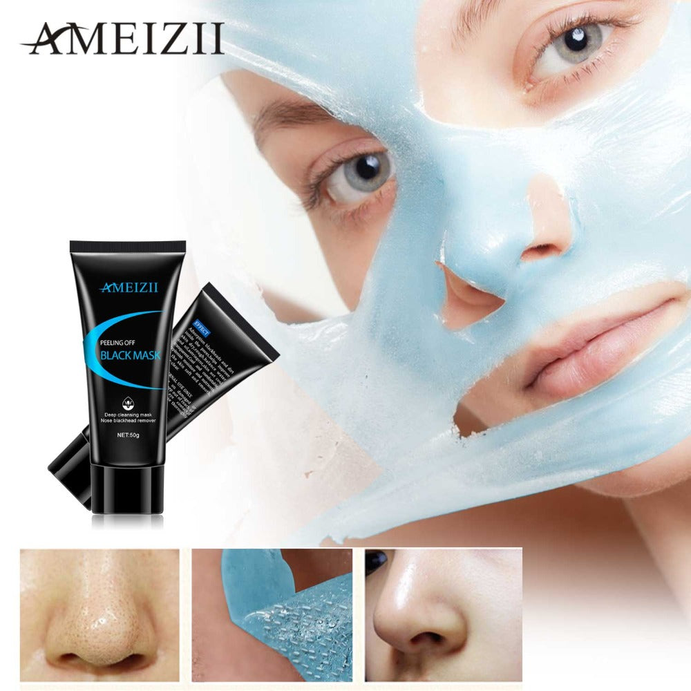 Black Mask Nose Peeling Off Blackhead Remover Face Masks Acne Treatment For  Face Deep Cleansing Blackhead Skin Care