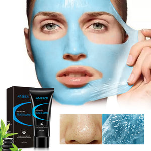 Black Mask Nose Peeling Off Blackhead Remover Face Masks Acne Treatment For Face Deep Cleansing Blackhead Skin Care - PrintiLya