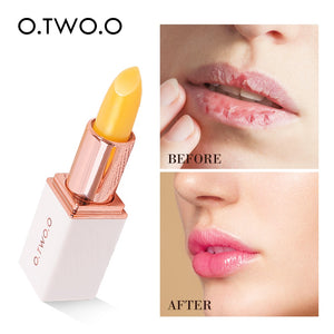 O.TWO.O Colors Ever-changing Lip Balm Lipstick Long Lasting Hygienic Moisturizing Lipstick Anti Aging Makeup Lip Care - PrintiLya