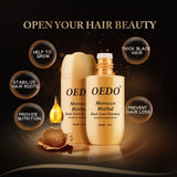 OEDO Morocco Argan Oil For Curly Hair Dry Repair Keratin Hair Treatment Hair Oil Keratin Hair Care Split Ends Conditioner - PrintiLya