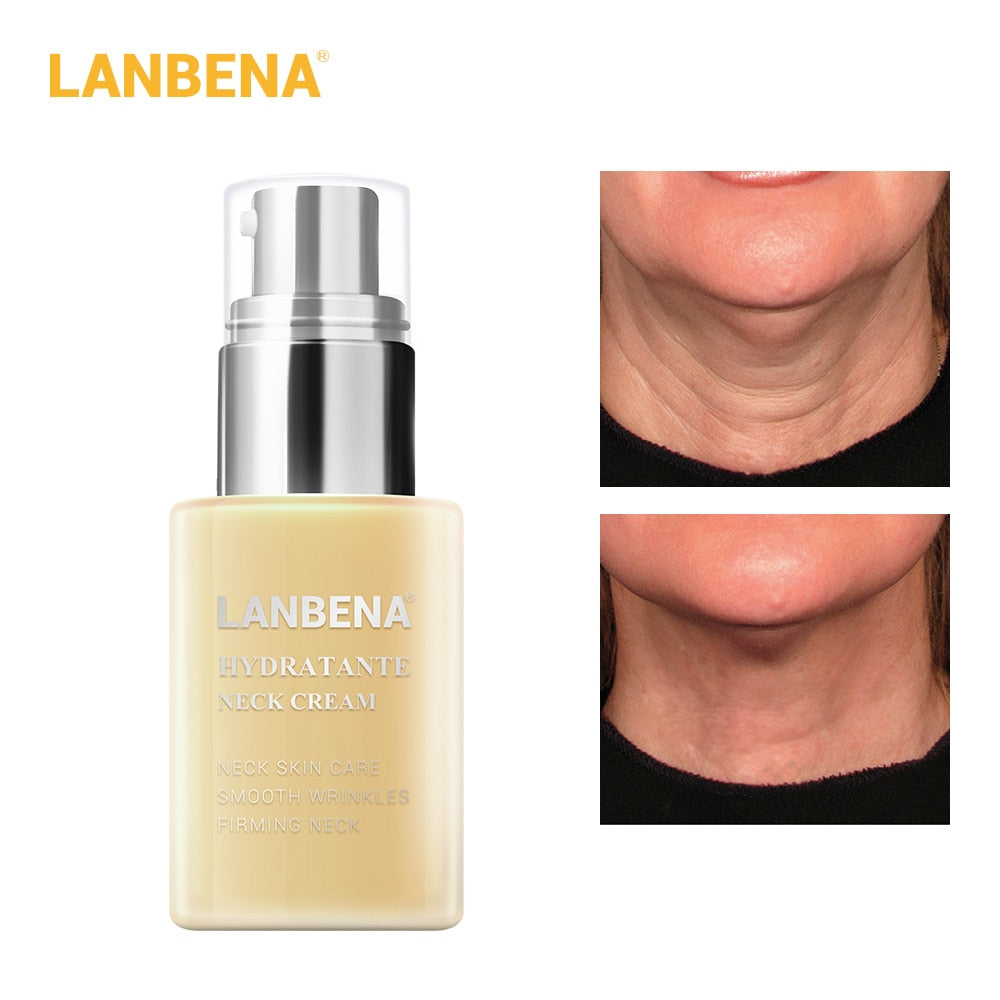 LANBENA Hydrating Neck Cream Neck Mask Anti Wrinkle Firming Moisturizing Reduce Fine Lines Relieving Health And Beauty Skin Care - PrintiLya