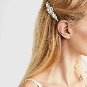 Pearl Hair Clip Barrette Stick Elegant Lady Hairpin Hair Styling Accessories - PrintiLya