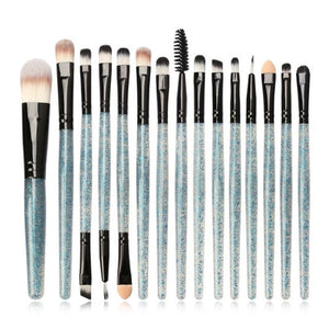 6/15/18pcs Makeup Brushes Synthetic Make Up Brush Set Tools Kit Professional Cosmetics Top Quality 2019 Beauty Tools - PrintiLya