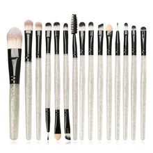 Load image into Gallery viewer, 6/15/18pcs Makeup Brushes Synthetic Make Up Brush Set Tools Kit Professional Cosmetics Top Quality 2019 Beauty Tools - PrintiLya