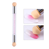 Elite99 Double End Nail Art Gel Polish Color Gradient Brush Stamping Blooming Pen Sponge Head UV Gel Painting Manicure Tool - PrintiLya