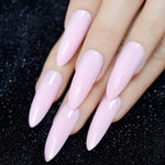Ombre Extra Long French Nail Extreme Stiletto Sharp Gradient Nude White 24 Fake Nails Acrylic Nails Wholesale Manicure Tips - PrintiLya