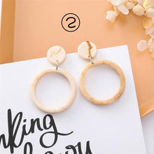 Load image into Gallery viewer, 2019 Korean Simple Girl Geometry Cold Style Earrings Fairy Long Tassel Drop Earrings Women Fashion Jewelry Accessories Pendant