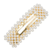Load image into Gallery viewer, Korean Style Sweet Imitation Pearl Women Barrettes Hairpins Elegant Lady Girls Hair Clip Hairgrips Hair Accessories New 2019