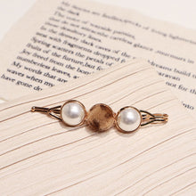 Load image into Gallery viewer, New Arrival 1pc Vintage Faux Fur Leopard Hairpins Women Imitiation Pearl Metal Hair Clips Tool Hair Braiders Styling Accessories - PrintiLya