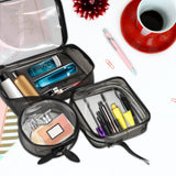 2019 brand new Zipper cosmetic Bag Travel Luggage Pouch Transparent Bag PVC Travel Cosmetic Makeup Bags - PrintiLya