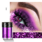 sequins glitter eyeshadows women shimmer starry pigments eyeshadow fashionable for sparkling eyes makeup accessories 2019 - PrintiLya