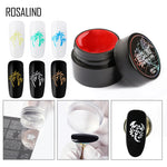 ROSALIND 5ml Gel Nail Polish Stamping Gel Plate Manicure Color Printing Oil Long Lasting Soak Off Gel Varnish for Nail Art - PrintiLya