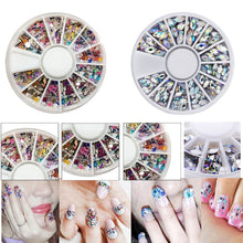 Load image into Gallery viewer, Brand New Mixed Color 3D Nail Art Tips Crystal Glitter Rhinestone DIY Nail Decoration Kits - PrintiLya