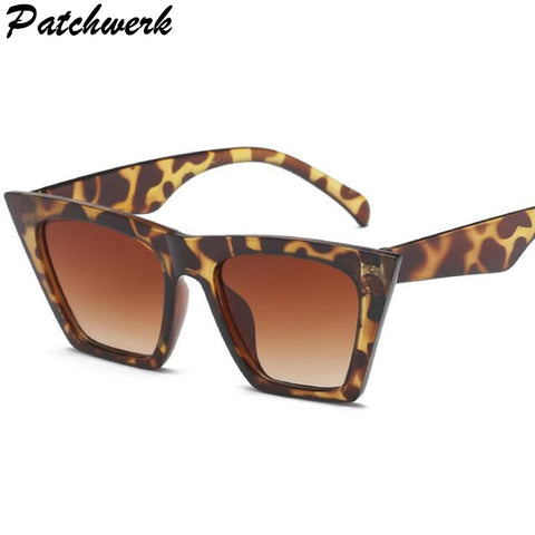 2019 Fashion Cute Sexy Retro Cat Eye Sunglasses Women Vintage Brand Designer Cateye Sun Glasses For Female Ladies UV400 - PrintiLya