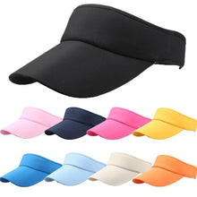 Load image into Gallery viewer, Men Women Summer Hats 2019 Adjustable Sport Headband Classic Sun Sports Visor Hat Cap Outdoors High Quality Hot Sale New Hot #0 - PrintiLya