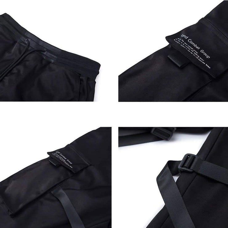 Ambushers Tactical Utility Joggers Streetwear Brand Techwear Combat Tactical YUGEN THEORY