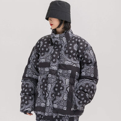 Bandana Padded Jacket [Special] Streetwear Brand Techwear Combat Tactical YUGEN THEORY