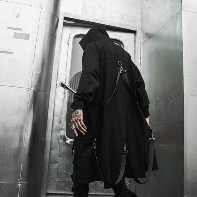 Blackout Jacket Streetwear Brand Techwear Combat Tactical YUGEN THEORY