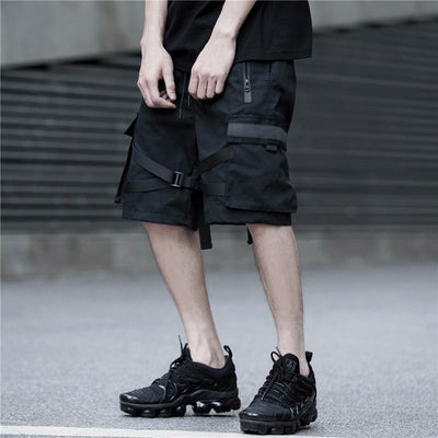 Blackout Shorts Streetwear Brand Techwear Combat Tactical YUGEN THEORY