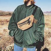Corduroy Chest Bag Streetwear Brand Techwear Combat Tactical YUGEN THEORY