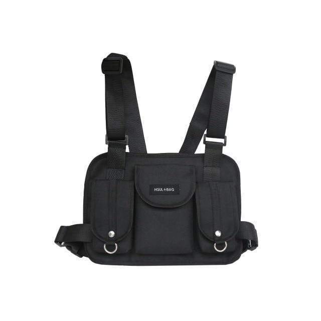 Faded Chest Bag Streetwear Brand Techwear Combat Tactical YUGEN THEORY