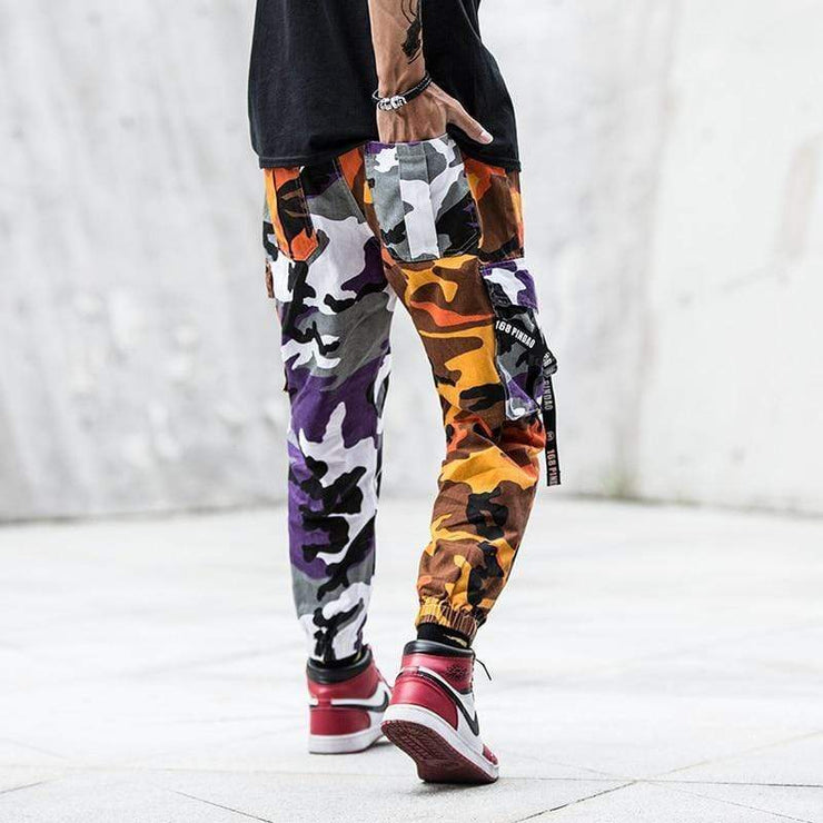 Lucid Camo Pants Streetwear Brand Techwear Combat Tactical YUGEN THEORY