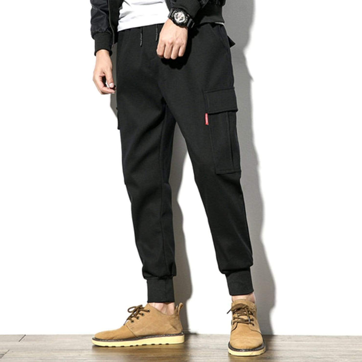 Multi-pocket Beam Foot Cargo Pants Streetwear Brand Techwear Combat Tactical YUGEN THEORY