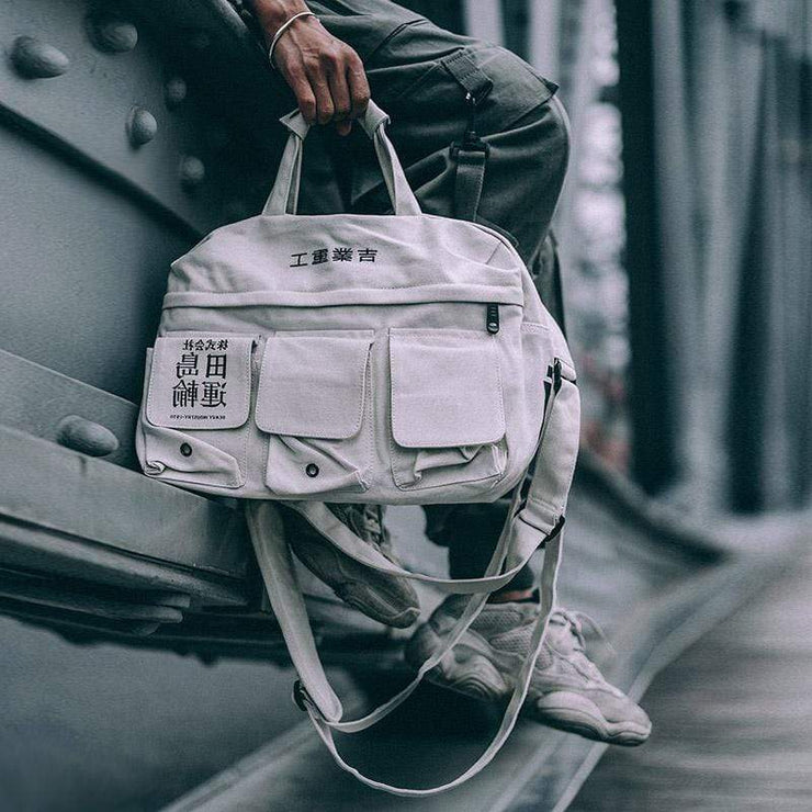 Multifunction Shoulder Bag Streetwear Brand Techwear Combat Tactical YUGEN THEORY
