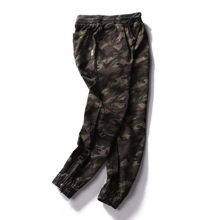 Outlaw Camo Pants Streetwear Brand Techwear Combat Tactical YUGEN THEORY