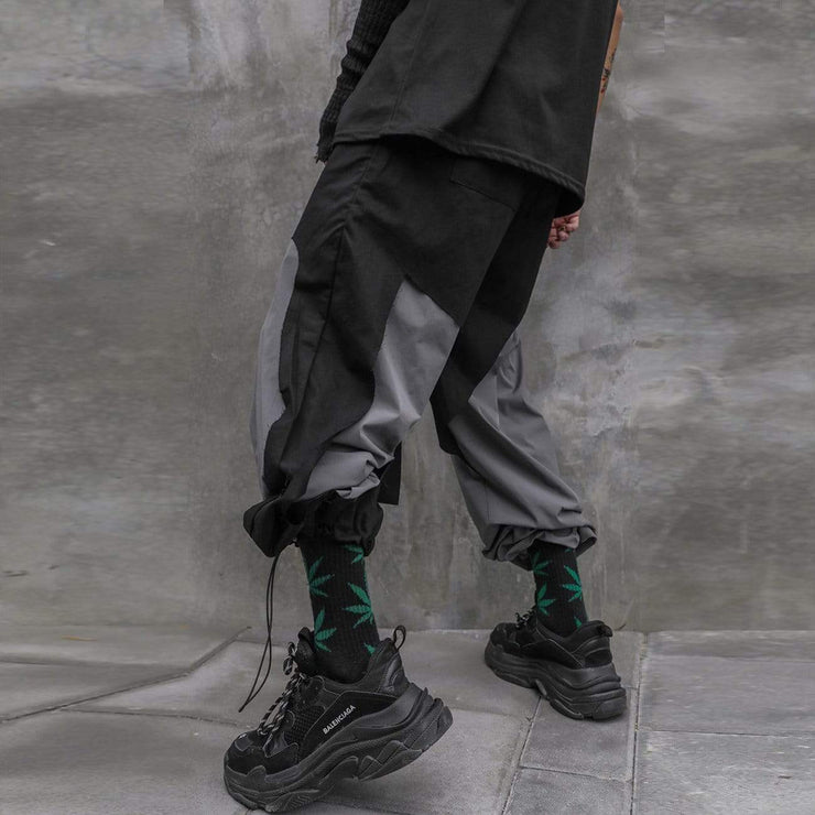 Patchwork Pants Streetwear Brand Techwear Combat Tactical YUGEN THEORY