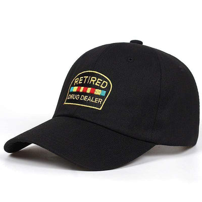 Retired Drug Dealer Dad Hat Streetwear Brand Techwear Combat Tactical YUGEN THEORY